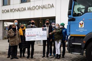 MAN Truck & Bus Polska wspiera Fundację Ronalda McDonalda
