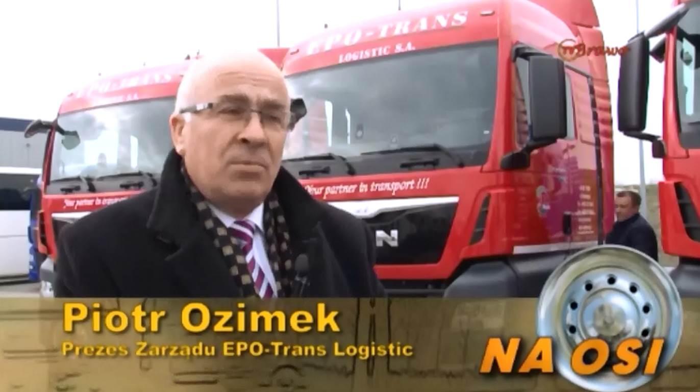 Przekazani TGX dla EPO-Trans Logistic i TOBI