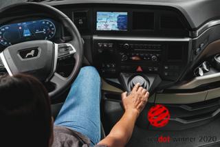 Nagroda Red Dot Award dla samochodów ciężarowych MAN