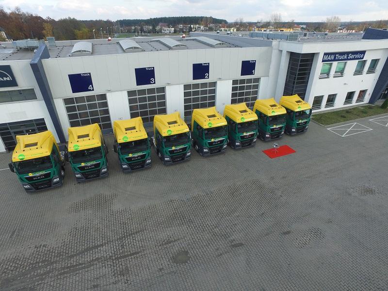 20 ciągników MAN TGX dla firmy Gobi