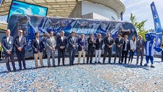 Klub piłkarski FC Porto wybrał autokar marki Neoplan i podróżuje komfortowo na dwóch pokładach