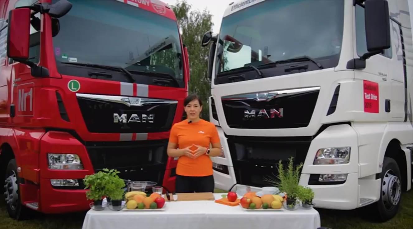 Porady żywieniowe Klubu MAN Trucker's World