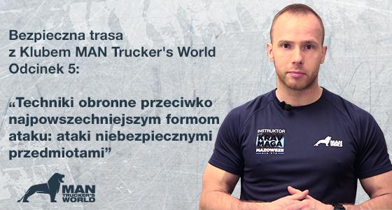 Bezpieczna trasa z Klubem MAN Trucker's World