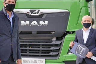 Firma Bury sp. z o.o. odbiera 20 pojazdów MAN TGX 18.510 nowej generacji