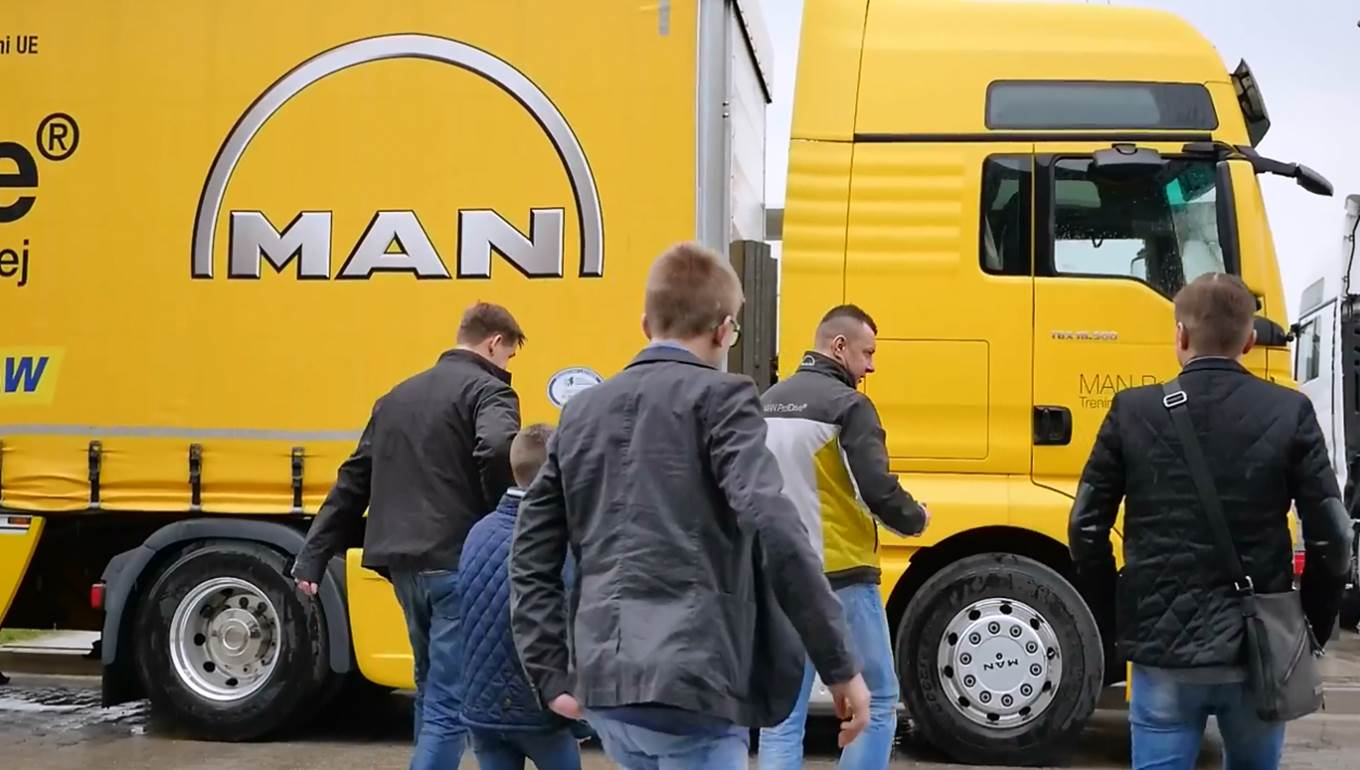 MAN ProfiDrive Tour 2017