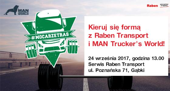 Kieruj się formą z Raben Transport i MAN Trucker's World