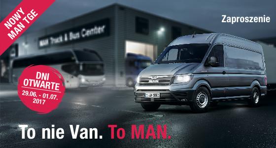 To nie Van. To MAN.